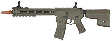 Elite Force Amoeba AM-009 AEG Automatic 6mm BB Rifle Airsoft Gun Dark Earth - KNAMAO