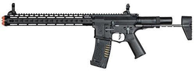 Elite Force Amoeba AM-016 AEG Powered Automatic 6mm BB Rifle Airsoft Gun Black - KNAMAO