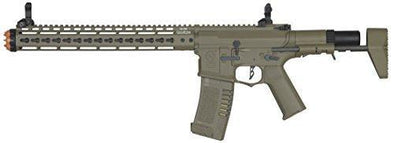 Elite Force Amoeba AM-016 AEG Powered Automatic 6mm BB Rifle Airsoft Gun Dark Earth Brown - KNAMAO