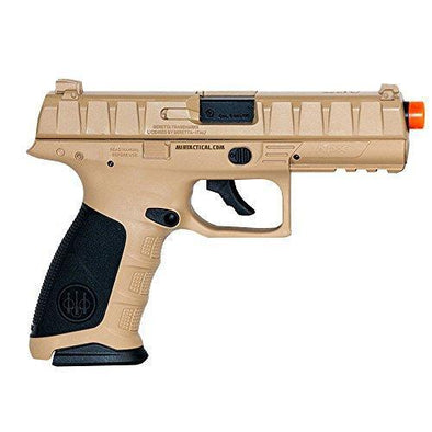 Elite Force Beretta APX Blowback 6mm BB Pistol Airsoft Gun FDE-Black - KNAMAO