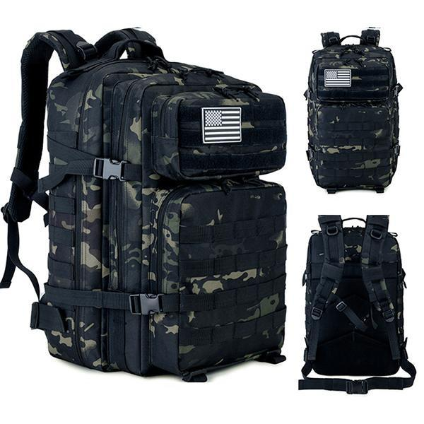 Details about  /45L FREE KNIGHT Hiking Trekking Camping Backpack Military Tactical Waterproof