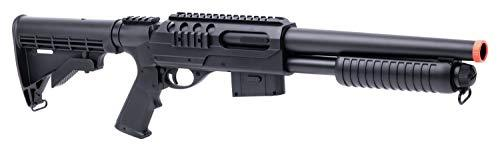 GameFace ASGM47 VooDoo Spring-Powered Single-Shot Pump Action Airsoft Shotgun - KNAMAO