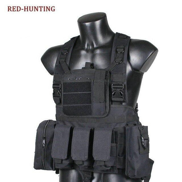 Han Wild Airsoft Tactical USMC Combat Molle RRV Chest Rig - KNAMAO