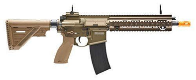 HK 416 A5 6mm BB Airsoft Rifle Gun Tan - KNAMAO