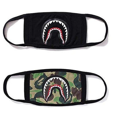 HomTop Black Shark Kits Face Mask 2 pcs - KNAMAO