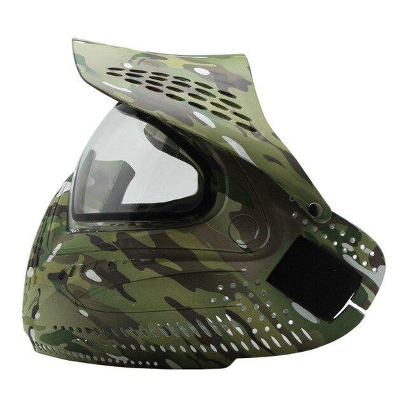 HPAT GCPM01 Thermal Paintball Mask Multicam with Visor - KNAMAO