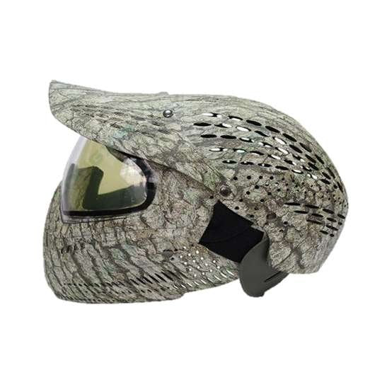 HPAT PM05 Thermal Paintball Mask with Full Head Cover - KNAMAO