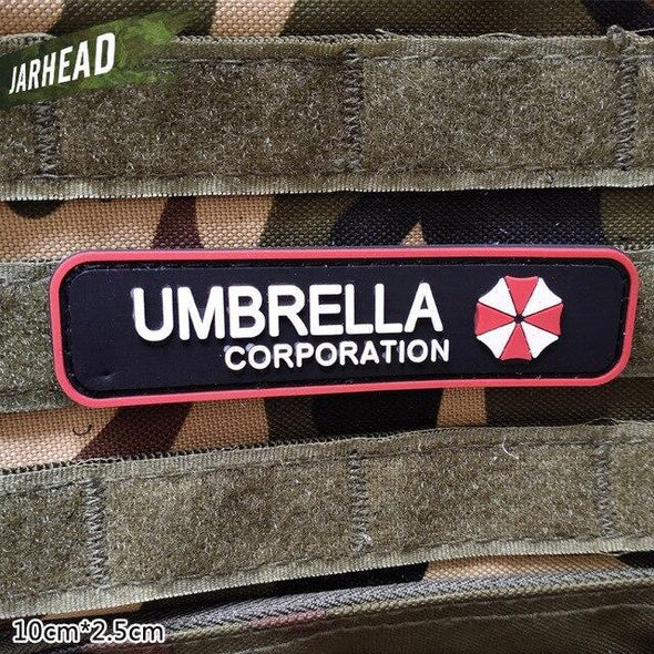 Jarhead Military PVC Patch Umbrella Corp Small - KNAMAO