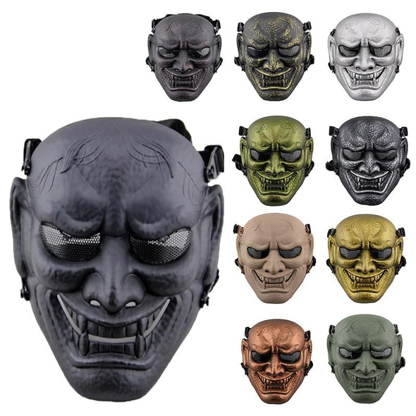 My Protector MZ-060 Airsoft Japanese Ghost King Samurai Skull Mask - KNAMAO
