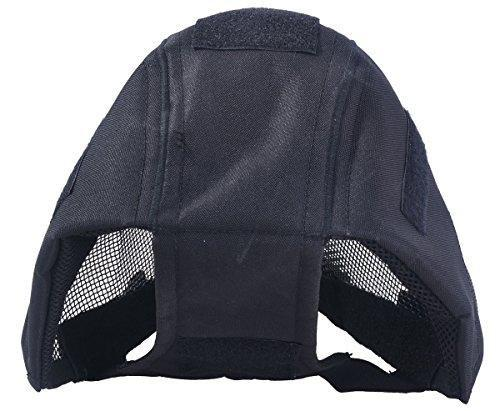 Outgeek Airsoft Mask Full Face Mask with Steel Mesh - KNAMAO
