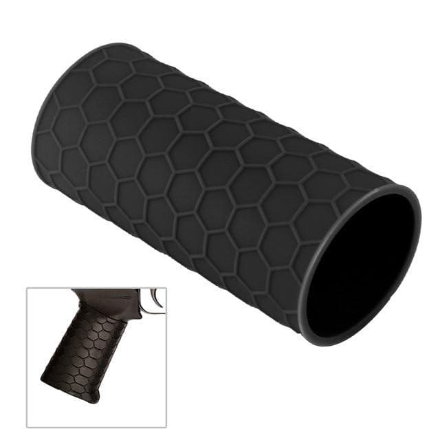 Anti Slip Covert Clutch Universal Tactical Airsoft Hunting Gun Rubber Cover Hand Grip Glove Sleeve For Glock Pistol Handle  KNAMAO