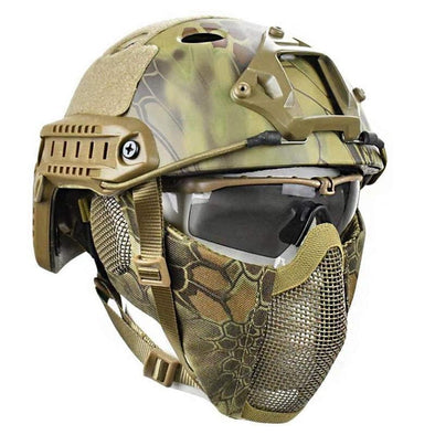 REDHUNT AF-002 Tactical Airsoft Helmet Mask - KNAMAO