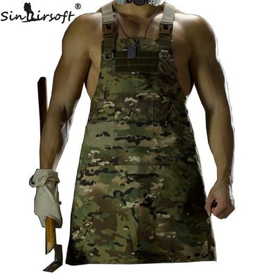 SINAIRSOFT LY1402 Sleeveless Tactical Apron - KNAMAO
