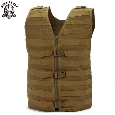 SINAIRSOFT LY1802 Airsoft Tactical Molle Vest - KNAMAO
