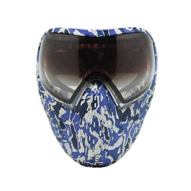 Spunky DPM03 Thermal Paintball Mask Blue-Camo - KNAMAO