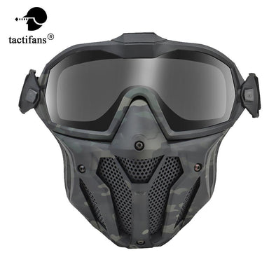 Tactifans Airsoft MA126 Tactical Full Face Mask - KNAMAO