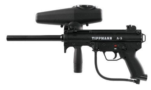 Tippmann A-5 .68 Caliber Paintball Marker Black - KNAMAO
