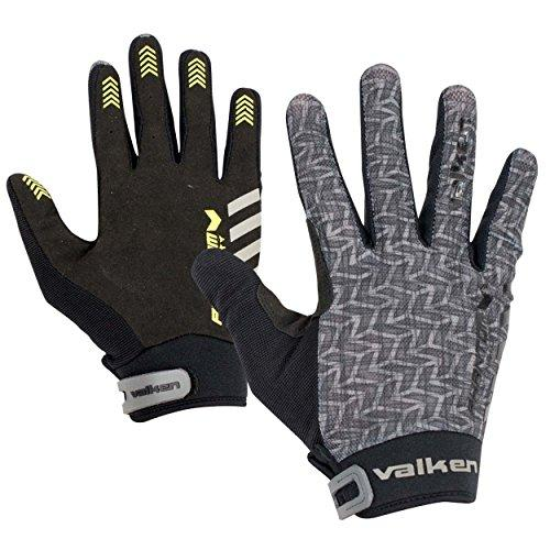 Valken Paintball Phantom Agility Gloves Grey-Black - KNAMAO