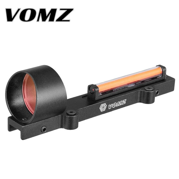 VOMZ 210007 tactical 1x28 Fiber Red Dot shotgun sight - KNAMAO