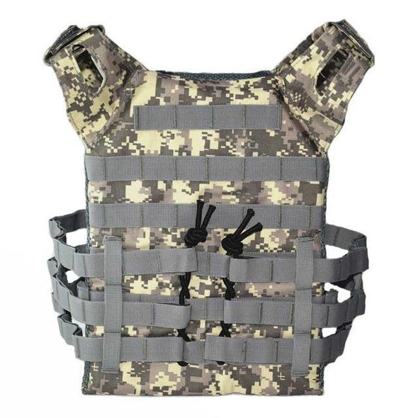 Wolf Enemy Airsoft Tactical Light Plate Carrier - KNAMAO