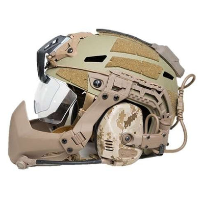 Wolfslaves FMA Tactical FAST Helmet Airsoft Half-Mask - KNAMAO