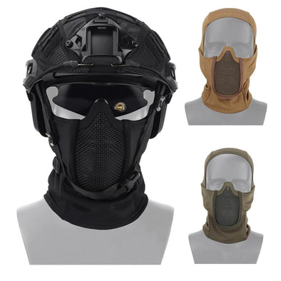 WoSporT Shadow Fighter Headgear Airsoft Mask - KNAMAO
