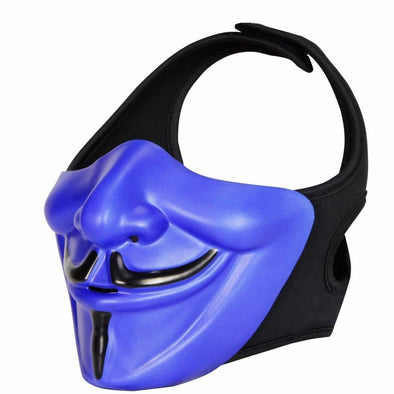 WosporT V-for-Vendetta Mask Airsoft smiling Hannya Masks - KNAMAO