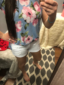 Just bloom floral top