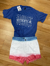 Load image into Gallery viewer, America stars tee