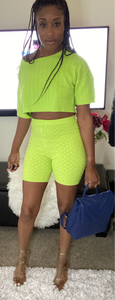 Ready Set Glow Shorts Set