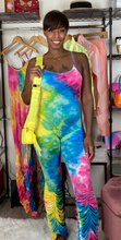 Load image into Gallery viewer, Tie Dye jumpsuit
