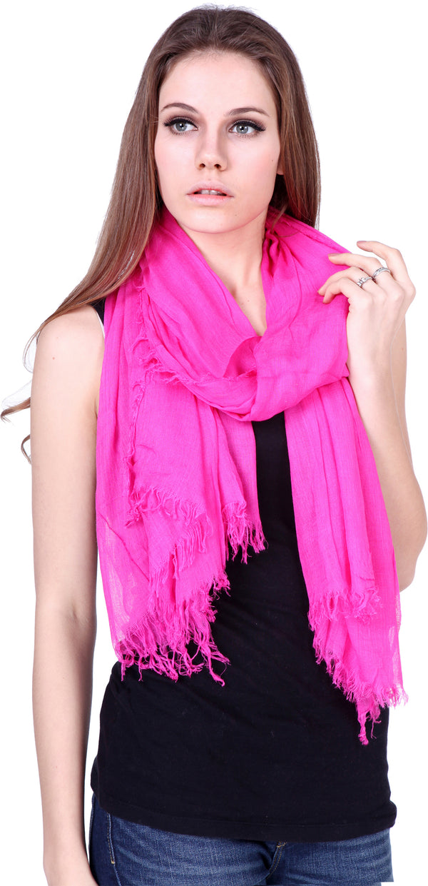 Handcrafted Scarf Hot Pink