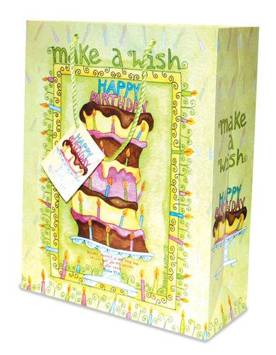 Divinity Boutique Gift Bag: Birthday Wish (6 Pack)