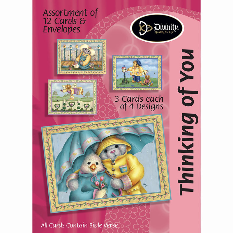 Divinity Boutique Boxed Cards: Thinking Of You Set 2