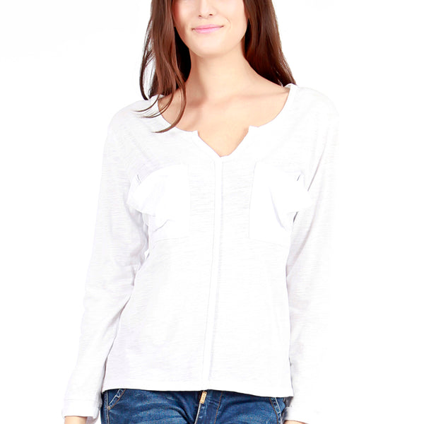 White Sammy Long Sleeve S/M