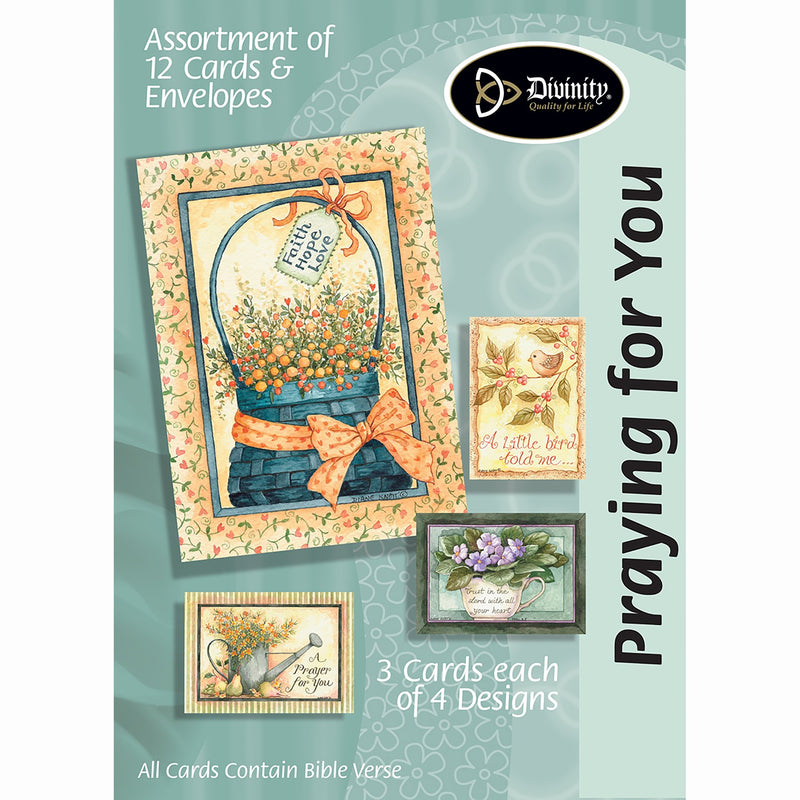 Divinity Boutique Boxed Cards - Praying For You