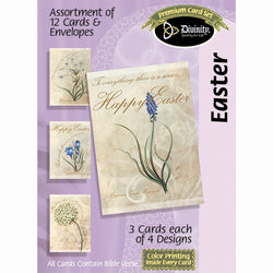 Divinity Boutique Boxed Cards: Easter- Flowers