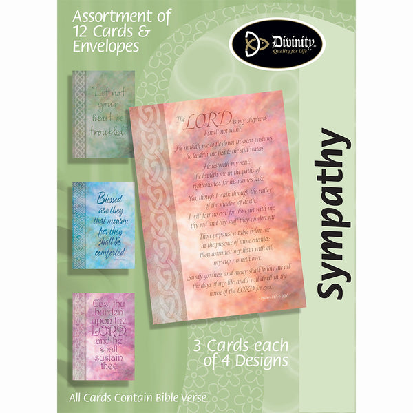Divinity Boutique Boxed Cards: Sympathy