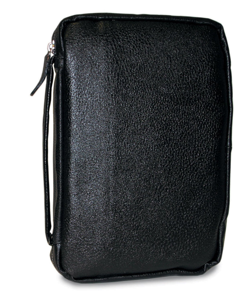 Divinity Boutique Midnight Black Leather Bible Cover -