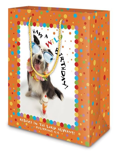 Divinity Boutique Gift Bag: Birthday Dog (6 Pack)