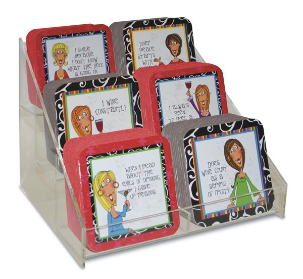 Divinity Boutique Cheeky Chic: 90 Coaster Assortment
