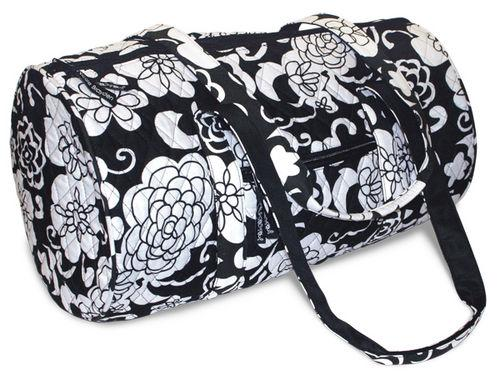 Divinity Boutique Quilted Bags Mini Duffel Contrast