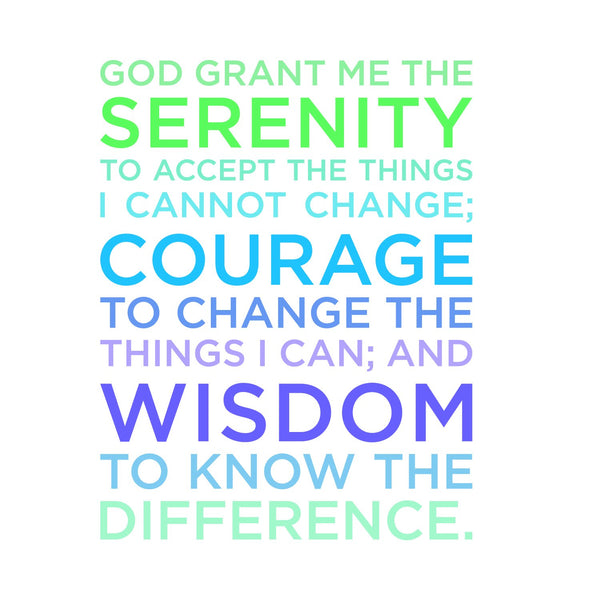 Divinity Boutique Napkin (Cocktail): Serenity Prayer (6Pk )