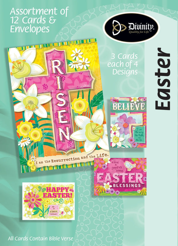 Divinity Boutique Boxed Cards: Easter, Brights Risen