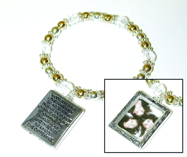 Divinity Boutique Rectangle Picture Frame Bracelet