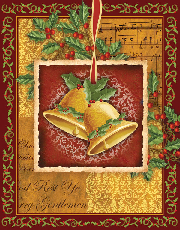 Divinity Boutique Boxed Christmas Cards: Christmas Bells