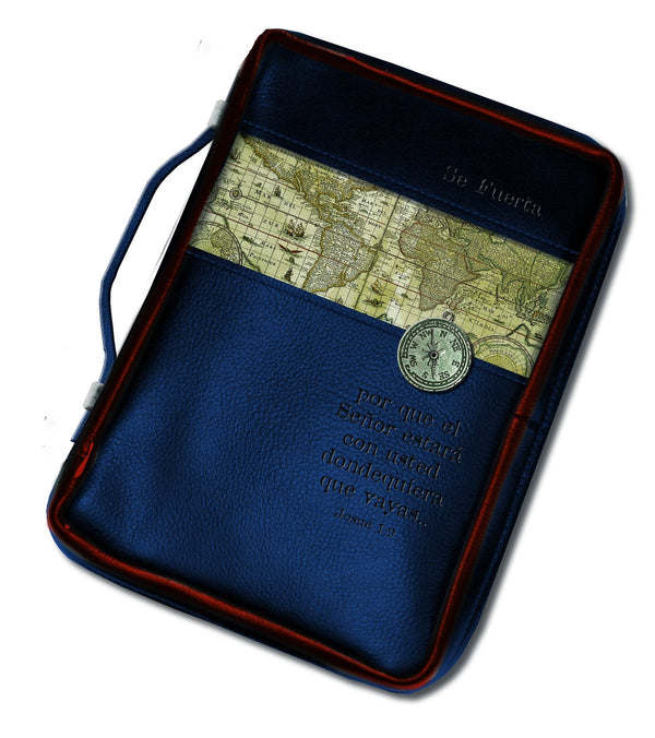 Divinity Boutique Spanish Nautical: Full Printed Bible Cover