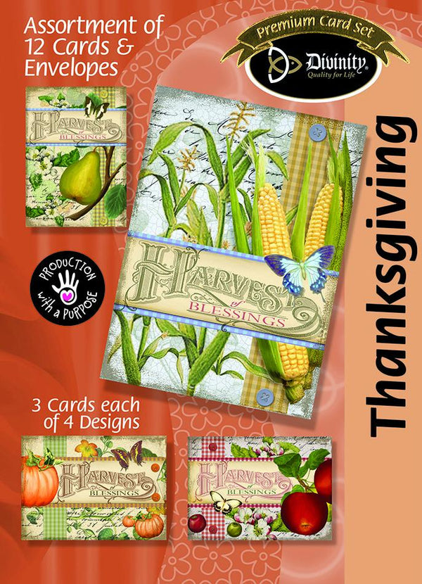Divinity Boutique Boxed Cards: Harvest Blessing
