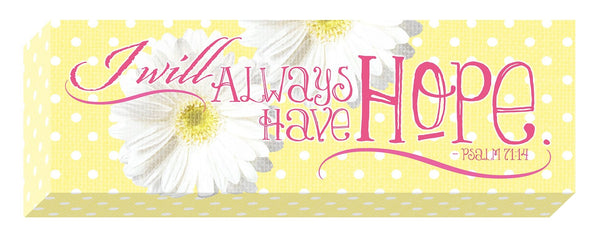 Divinity Boutique Sunshine Daisies: Hope Gallery Canvas