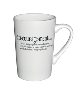 Divinity Boutique Matte Definition Mug : Encouragement